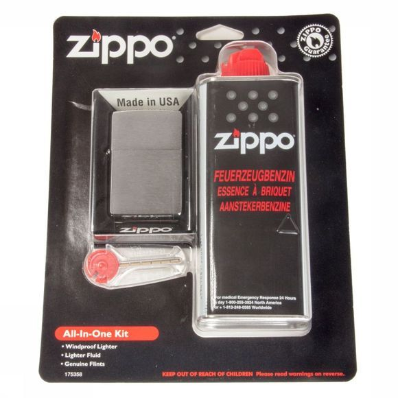 Zippo Vuur Aansteker All-In-One Kit Geen kleur