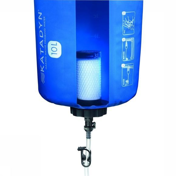 Katadyn Waterfilter Kpi Base Camp Pro 10L Blauw