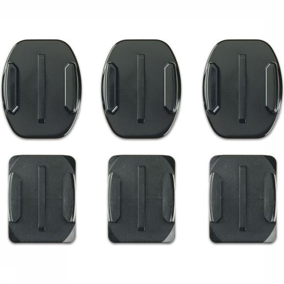 GoPro Accessoire Hero3 Flat + Curved Adhesive Mounts Geen kleur