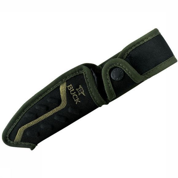 Buck Knives Mes Pursuit Large Green Fixed Middengroen/Zwart