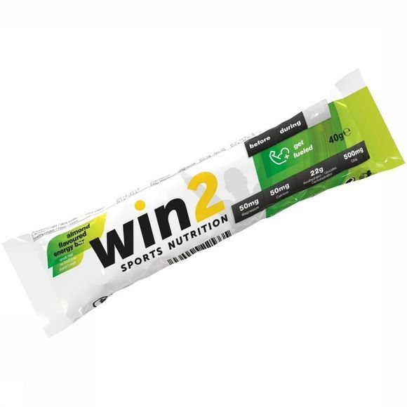 Win2 Barre Energy Bar Amande 40g Pas de couleur