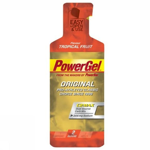 Powerbar Gel Original Tropical Fruit Geen kleur