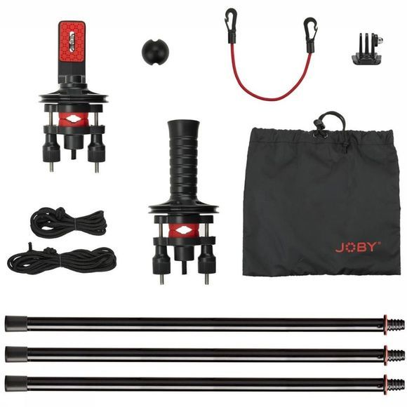 Joby Accessory Action Jib Kit & Pole Pack black/red