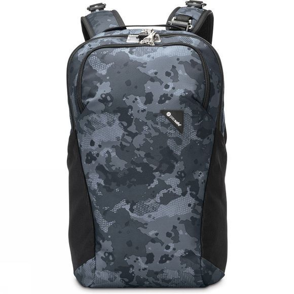 Pacsafe Anti-Diefstal Vibe 20L Donkergrijs/Assortiment Camouflage