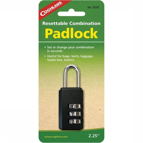 Coghlan's Anti-Robbery Cog Padlock No Colour