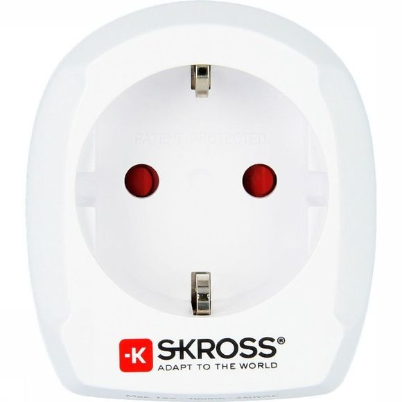 S-Kross Adaptateur Universel Europe To UK Adapter Blanc