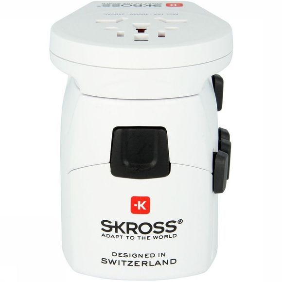 S-Kross Adaptateur Universel Pro World & USB Blanc