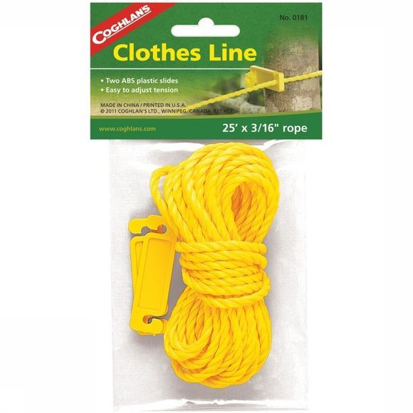 Coghlan's Miscellaneous Clothesline 25x3/16 No Colour