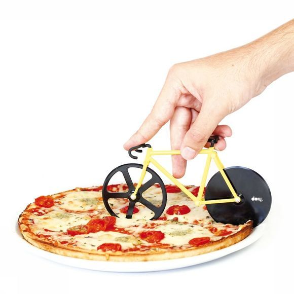Doiy Gadget Pizza Cutter Fixie mid yellow/black