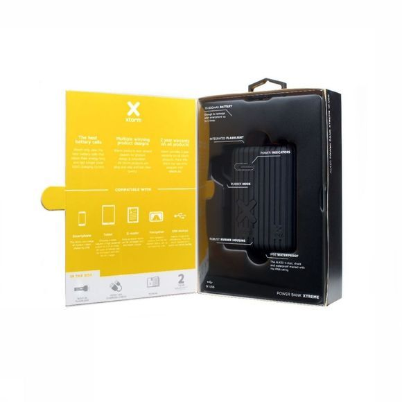 Xtorm Chargeur Waterproof Power Bank Xtreme 10000Ah Noir