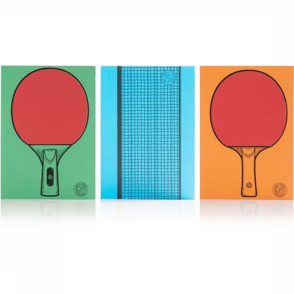 Suck UK Gadget Table Tennis Notitieboekje Assortiment