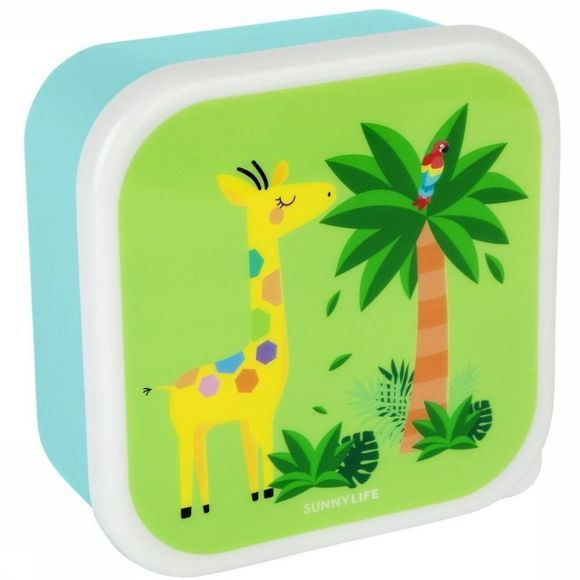 Sunnylife Gadget Kids Nested Containers Safari Set Of 3 Assortiment