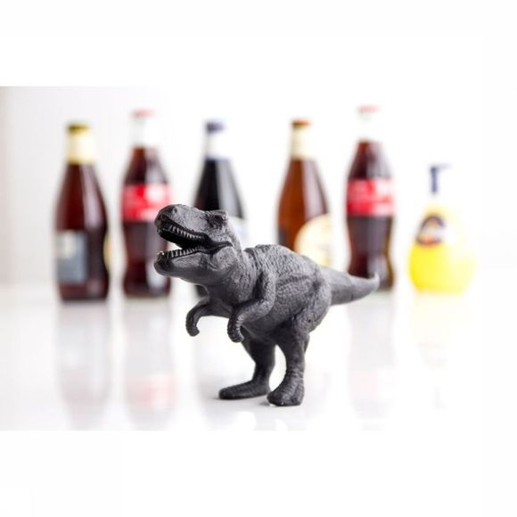 Suck UK Gadget Dinosaur Bottle Opener dark grey