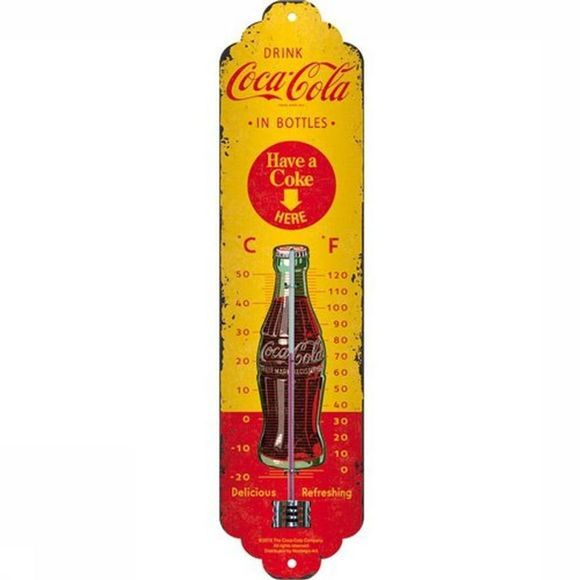 Nostalgic Art Gadget Have A Coke Thermometer Geen kleur