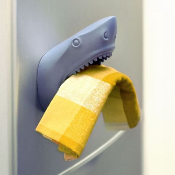 Dreams Gadget Shark Animal Wall Pocket mid blue
