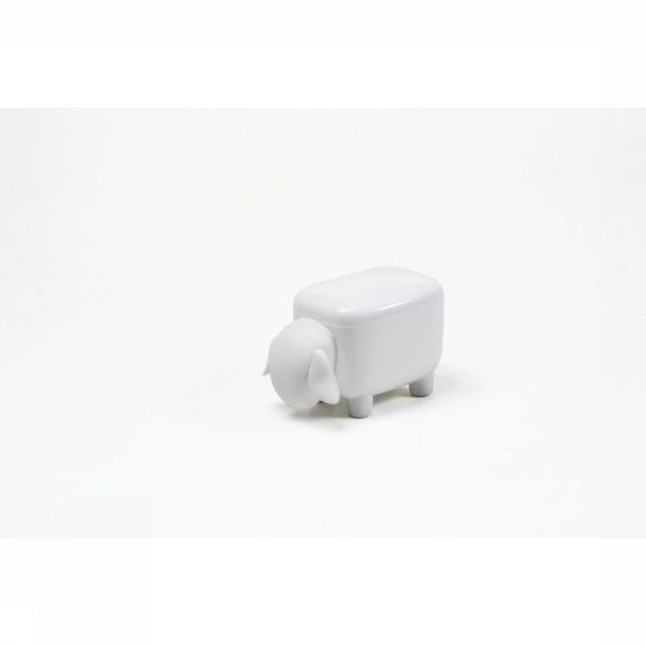 Qualy Gadget Mini Sheep Box Wit