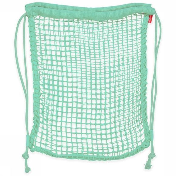 Kikkerland Gadget Cotton Net Backpack Vert Moyen