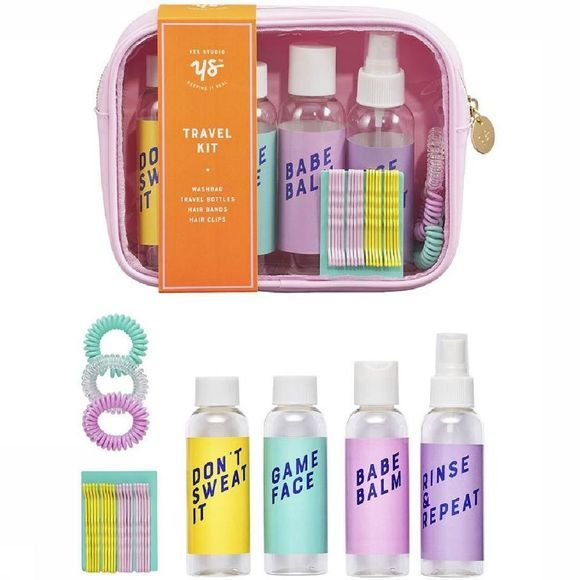Yes Studio Gadget Vacay Travel Kit Rose Clair