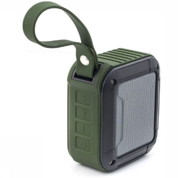 Kikkerland Gadget Outdoor Bluetooth Speaker Middengroen/Zwart