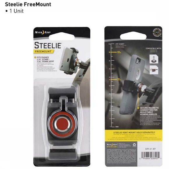 Nite Ize Gadget Steelie Freemount Car Mount Kit Smartphone Zwart