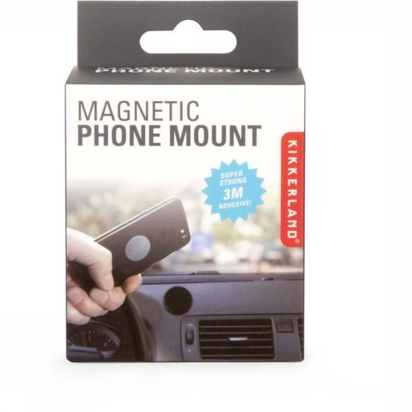 Kikkerland Gadget Aimantic Phone Mount Noir