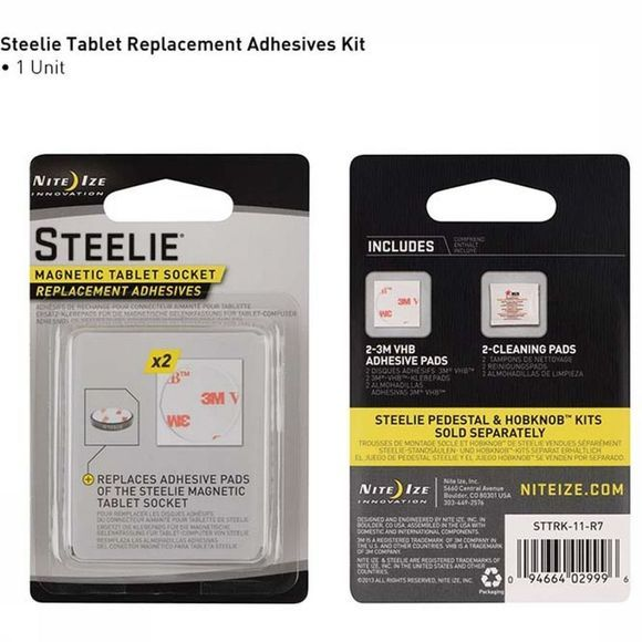 Nite Ize Gadget Steelie Tablet Replacement Kit Noir