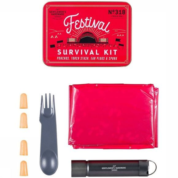 Gentlemen's Hardware Gadget Festival Survival Kit No Colour