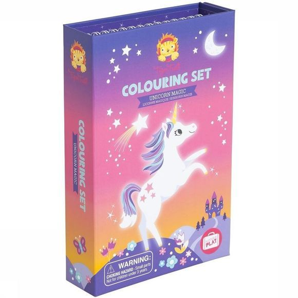 Tiger Tribe Spel Colouring Sets Unicorn Magic Geen kleur / Transparant