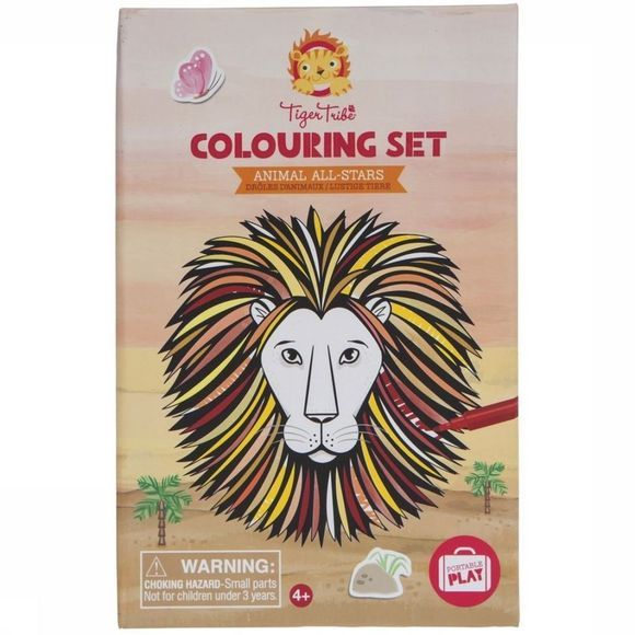 Jeu Colouring Sets Animals All Stars