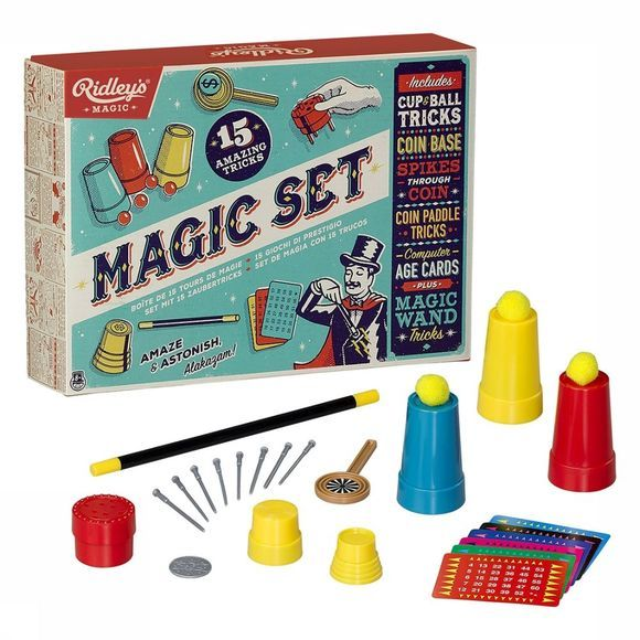 Ridley's Jeu Magic Set Of 15 Tricks Pas de couleur