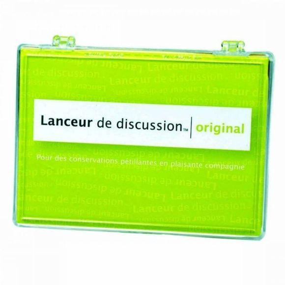 Hygge Games Jeu Lanceur De Discussion Original Pas de couleur