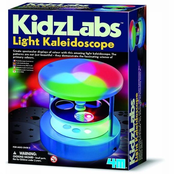 4M Jeu Light Kaleidoscope Assortiment