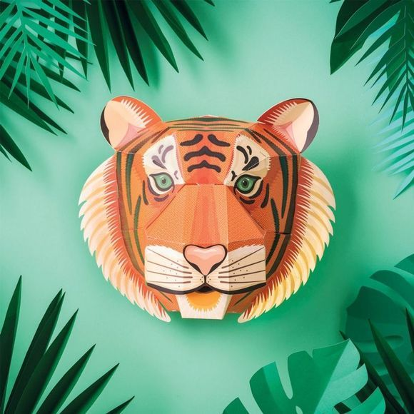 Clockwork Soldier Spel Create Your Own Majestic Tiger Head Geen kleur