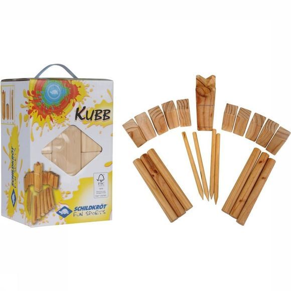 Schildkröt Toys Kubb light brown