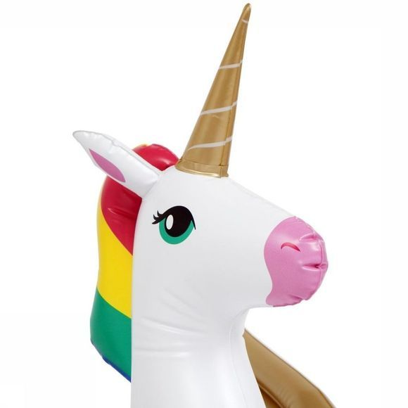 Sunnylife Speelgoed Kiddy Float Unicorn Wit/Assortiment