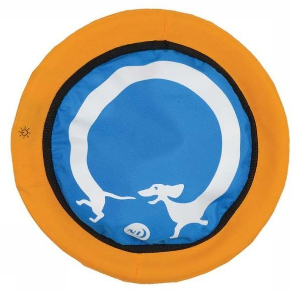 Nite Ize Speelgoed Nite Dawg Led Soft Disc Middenblauw/Middenrood
