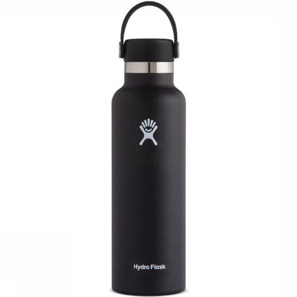 Hydro Flask Bouteille Isotherme 21oz/621ml Standard Mouth Noir
