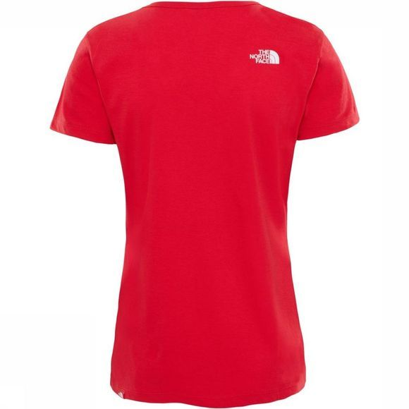 The North Face T-Shirt Simple Dome Middenrood