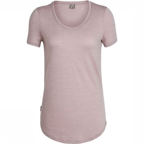 Icebreaker T-Shirt Solace SS Scoop light pink