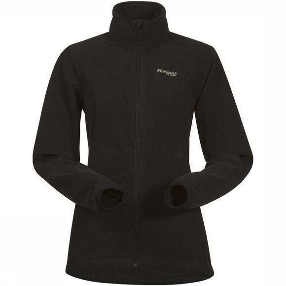 Bergans Fleece Park City Med Zwart