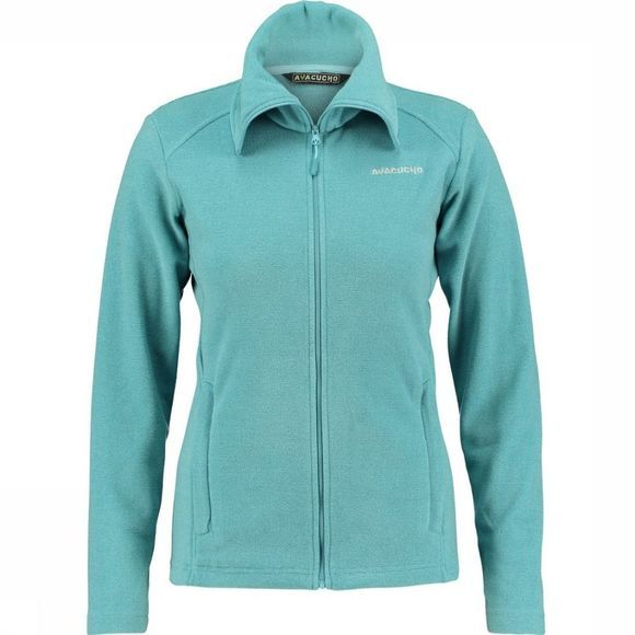 Ayacucho Fleece Crevasse High Collar Lichtblauw