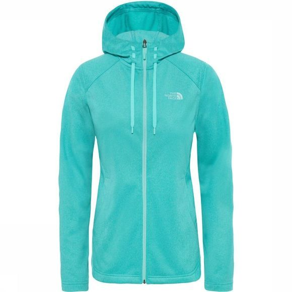 The North Face Fleece Tech Mezzaluna Hoodie light green