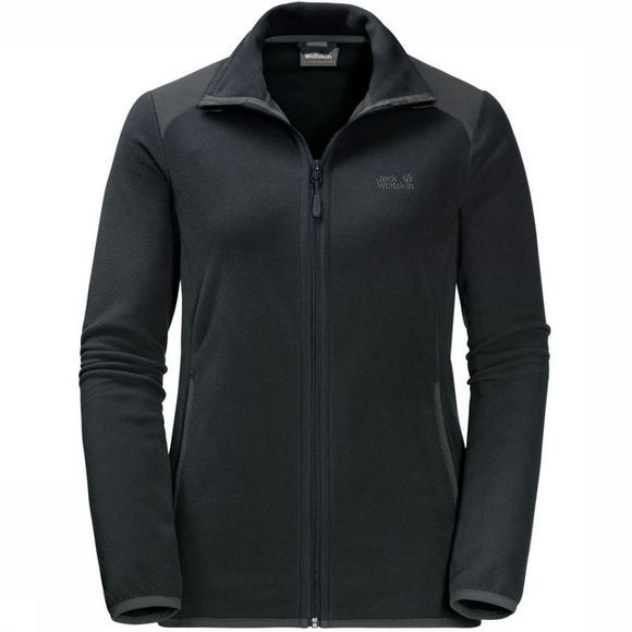Jack Wolfskin Fleece Performance Flex Donkergrijs