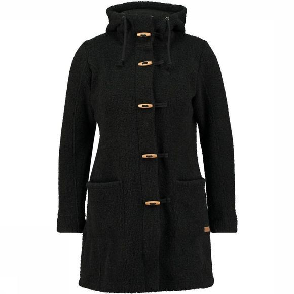 Ayacucho Fleece Montana Coat Zwart