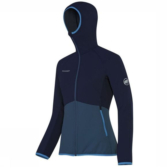 Mammut Fleece Botnica Light ML Hooded Marineblauw/Donkerblauw