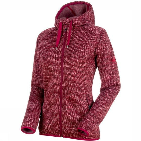 Mammut Chamuera MLHooded Fleece Donkerrood