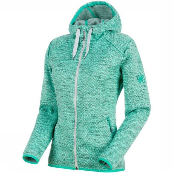 Mammut Chamuera MLHooded Fleece Lichtgroen