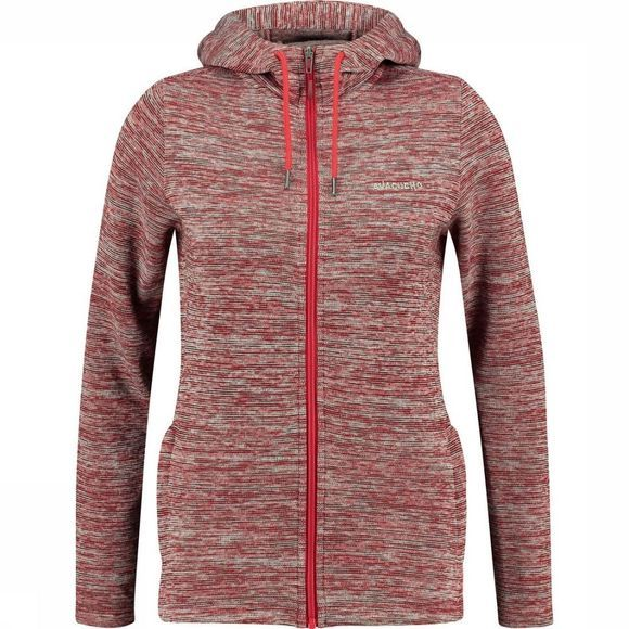 Ayacucho Polaire Drasland Hooded W Rouge