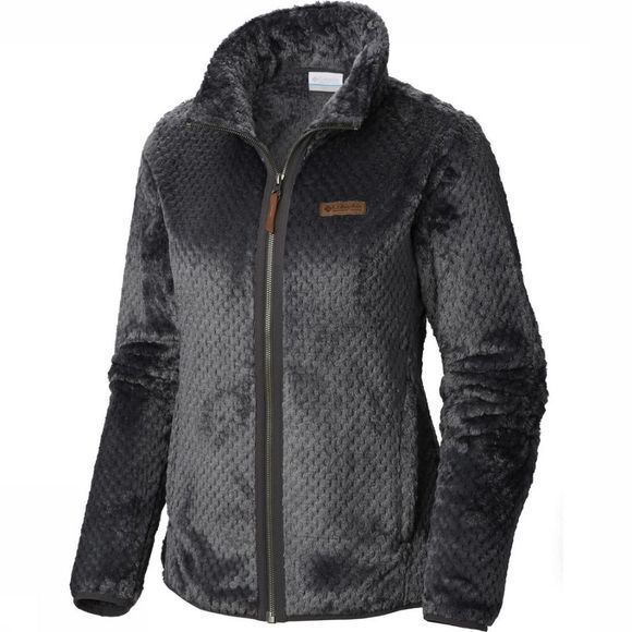 Columbia Fleece Fire Side III Sherpa Full Zip Donkergrijs