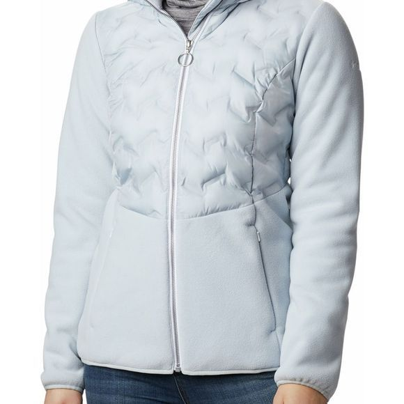 Columbia Fleece Delta Ridge Hybrid light grey/white